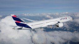 La proyección operacional de pasajeros de Latam para abril de 2021 se estima llegue a un 25%