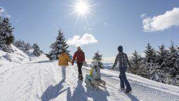 Bariloche fue el primer centro de esquí en Sudamérica en poder disfrutar de la nieve el año pasado.