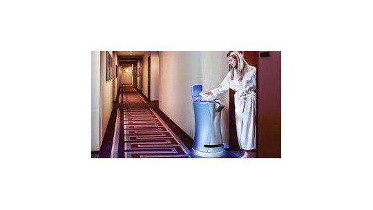Savioke revolucionó el equipamiento de hoteles con su robot mayordomo.