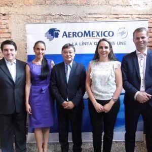 AEROMÉXICO. Crecimiento de un 18% este año en Ecuador