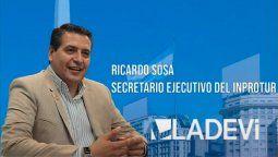 Ricardo Sosa, secretario ejecutivo de Inprotur.