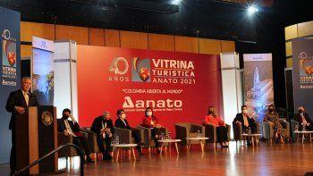 El presidente de Colombia destacó la presencia de Argentina en Anato