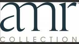 El logo de la nueva masterbrand AMR Collection.