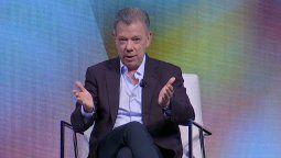 Juan Manuel Santos fue el orador principal del primer día de la Cumbre de WTTC.