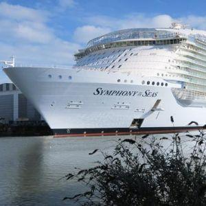 ROYAL CARIBBEAN. Zarpó el barco de pasajeros más grande del mundo
