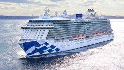 Princess Cruises navegará por Europa en 2023.