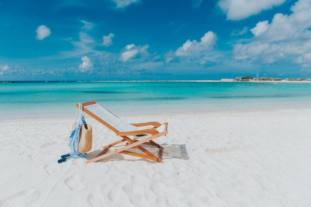 Las extensas playas de Aruba garantizan el distanciamiento social.