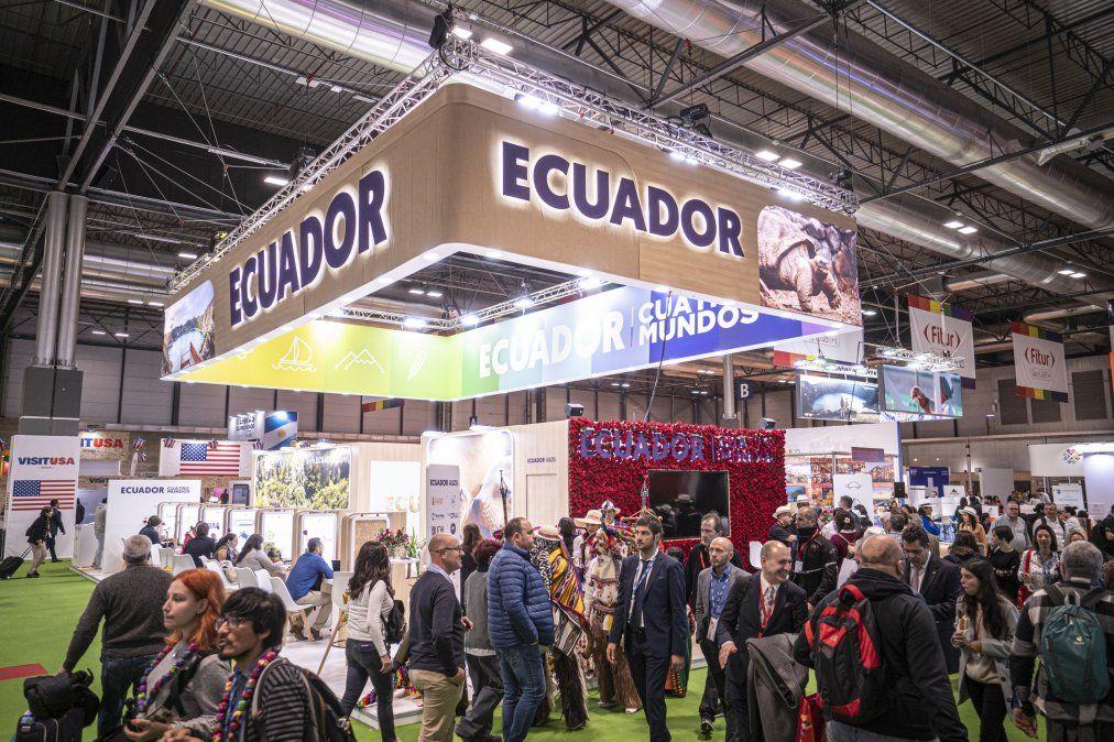 Stand de Ecuador.