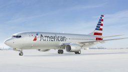 Boeing B-737, de American Airlines.