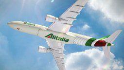 Un Airbus A330 de Alitalia.