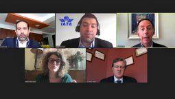 Parte de los panelistas del Webinar Volviendo a Despegar en Ecuador