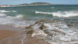 Playa Grande, uno de los balnearios de Piriápolis.