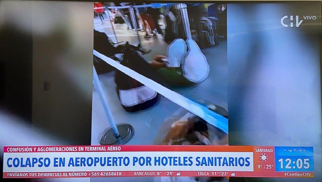 Aeropuerto: colapso por Hoteles de Tránsito