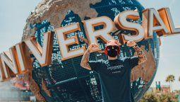 Maluma estuvo de paseo por Universal Orlando Resorts