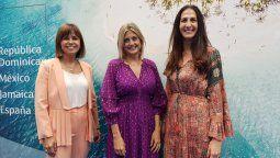 Malena Omoldi, Lluisa Salord y Alba Mingo en Fitur.