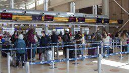 Los vuelos nacionales e internacionales aumentan exponencialmente.