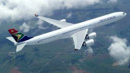Un Airbus A340 de South African Airways.