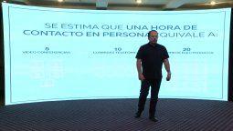 Francisco Cachafeiro, presidente de MPI México, durante su intervención resaltó la importancia del segmento MICE.