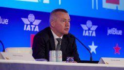 Willie Walsh, directo General y CEO de la IATA.