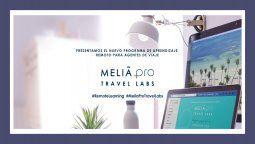 melia pro travel labs, capacitaciones remotas para agentes de viajes