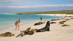Galápagos vuelve a recibir turistas (archivo)