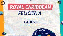 Ladevi Medios y Soluciones, uno de los mejores medios de Latinoamérica para Royal Caribbean.