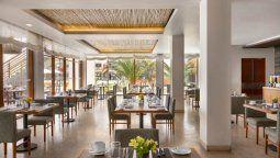 Restaurante El pardo al mar del DoubleTree By Hilton Paracas Hotel.