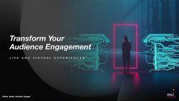 D.I.V.E. es el nuevo equipamiento tecnológico para generar experiencias innovadoras en los eventos virtuales.