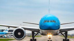 Uno de los Boeing B-777 con los que KLM vuela a Sudamérica y el Caribe.