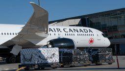 Air Canada tendrá tres vuelos de cargo semanales hacia Lima hasta octubre.