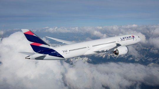 Boeing B-787 Dreamliners de Latam Airlines.
