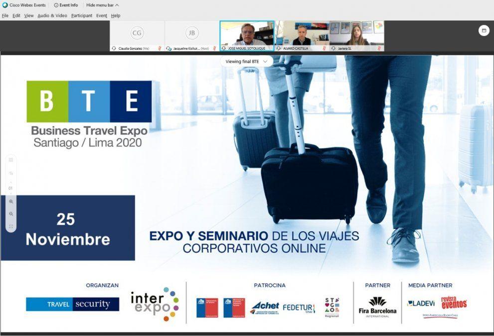 Interexpo y Travel Security presentaron BTE 2020.