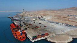 El Terminal Portuario General San Martín se convertirá en el quinto puerto en importancia del país.