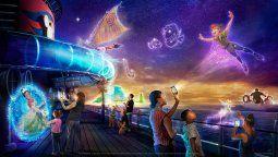 Disney Uncharted Adventure, un nuevo desarrollo de Walt Disney Imagineering que revolucionará el entretenimiento familiar a bordo.