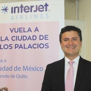 """Julio Gamero, Interjet: """"Trabajamos con las mayores y mejores agencias de viajes"""""""