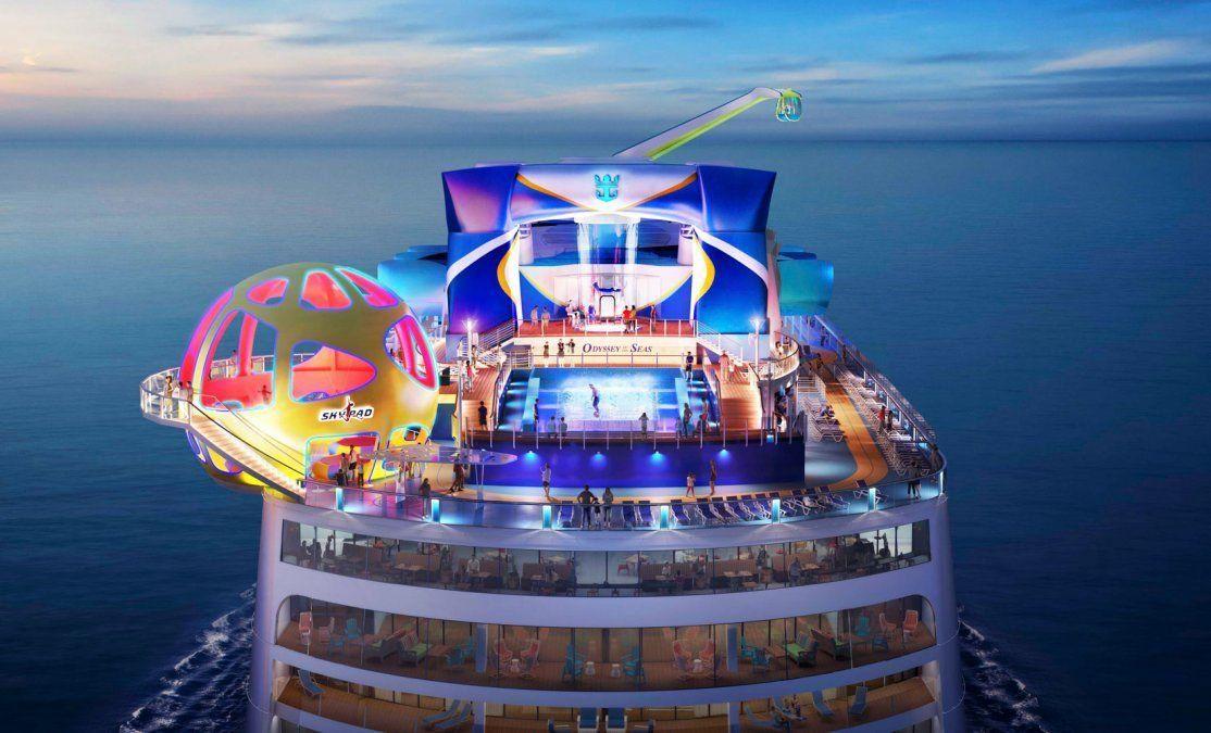 El Odyssey of the Seas es el segundo barco de la clase Quantum Ultra de Royal Caribbean, y llega justo a tiempo para el verano.