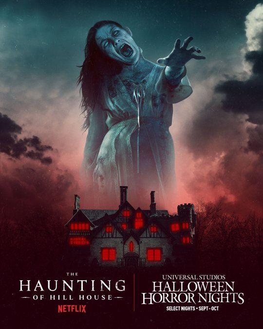 The Haunting of Hill House, el éxito de Netflix, está en Halloween Horror Nights.