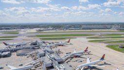 Aeropuerto de Heathrow, la mayor puerta de llegada de los vuelos internacionales al Reino Unido.