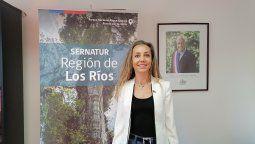 Paula Steffen, directora regional de Sernatur Los Ríos.