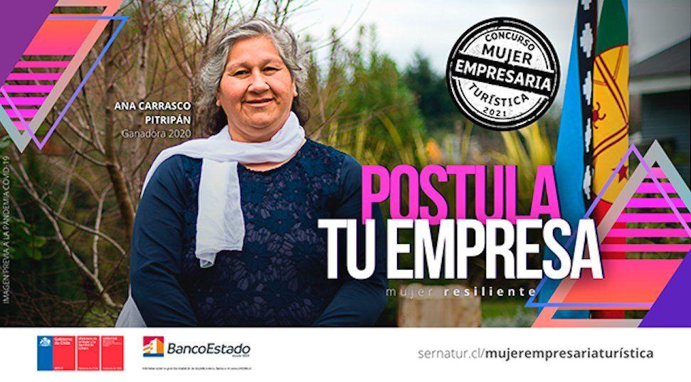 Hasta el 9 de julio estarán abiertas las postulaciones para el concurso Mujer Empresaria Turística 2021.