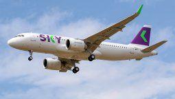 SKY aumentará sus frecuencias en vuelos de cabotaje.