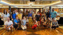 Agentes de la región que participaron del seminario de Royal Caribbean.