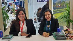 Lourdes Tutivén y Dianne Infante (GTT)