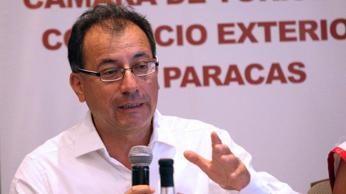 Eduardo Jáuregui, titular de Capatur Paracas.