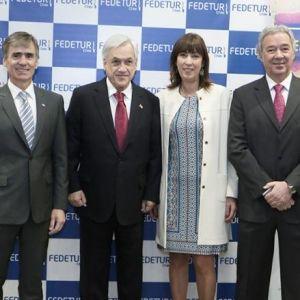 """Piñera: """"Esta industria es uno de los pilares para transformar a Chile en un país desarrollado"""""""