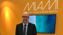 David Whitaker, presidente & CEO de The Greater Miami CVB.