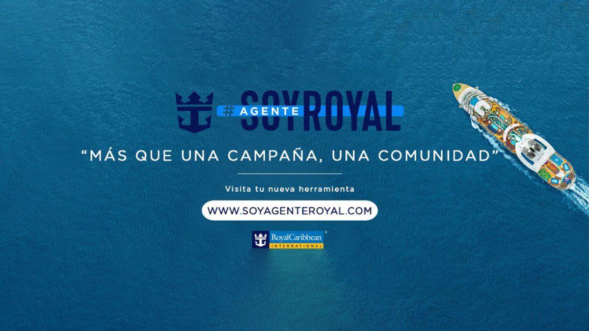 {altText(<p><strong>#SOYAGENTEROYAL</strong>fue presentada por Royal Caribbean en el<strong>1° Royal Talk</strong>del año.</p>,Royal Caribbean y los agentes de viajes, más cerca que nunca)}