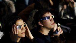 La mayoría de los viajeros al eclipse provenían de la Región Metropolitana
