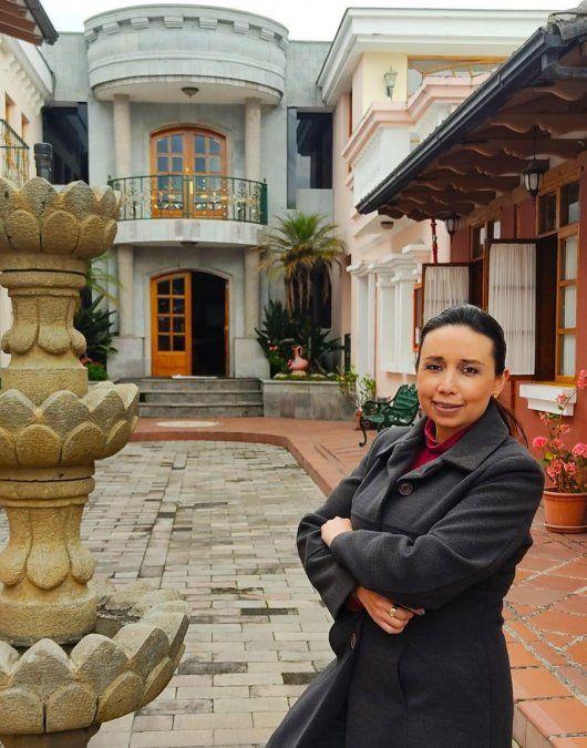 Sonia Salinas, gerente Comercial de Rincón de Puembo.