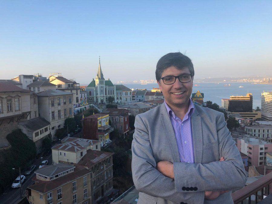 Marcelo Vidal, director regional de Sernatur Valparaíso.